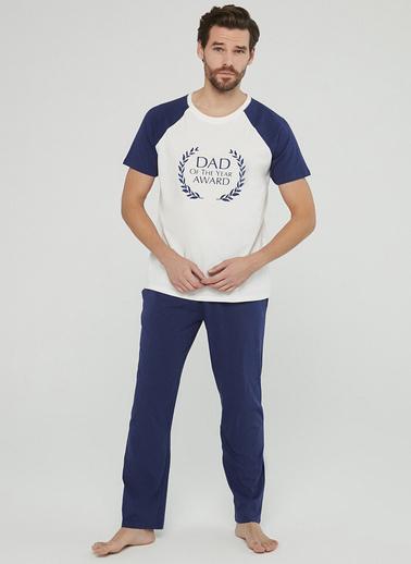 Penti Family Award Erkek Pijama Takımı Mavi